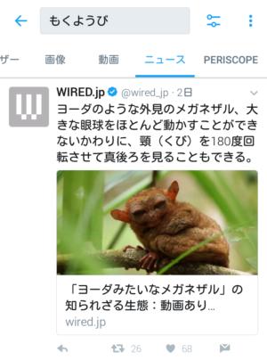 ツイート検索(ニュース)
